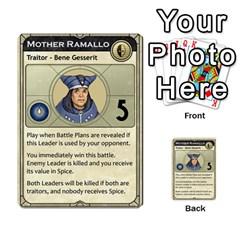 Dune Traitor, Bonus  By Rafael Fuentes   Multi Purpose Cards (rectangle)   83ndu76ju6h0   Www Artscow Com Front 12