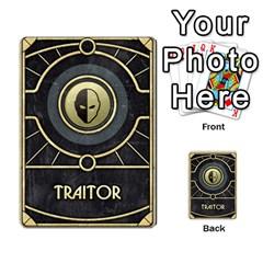 Dune Traitor, Bonus  By Rafael Fuentes   Multi Purpose Cards (rectangle)   83ndu76ju6h0   Www Artscow Com Back 15