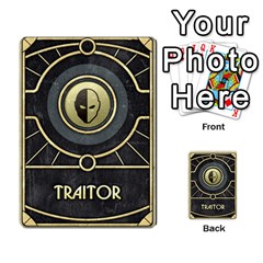 Dune Traitor, Bonus  By Rafael Fuentes   Multi Purpose Cards (rectangle)   83ndu76ju6h0   Www Artscow Com Back 27