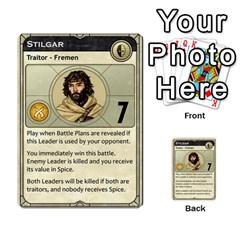 Dune Traitor, Bonus  By Rafael Fuentes   Multi Purpose Cards (rectangle)   83ndu76ju6h0   Www Artscow Com Front 4