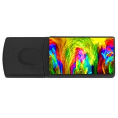 Painted Forrest 4gb Usb Flash Drive (rectangle) by masquerades