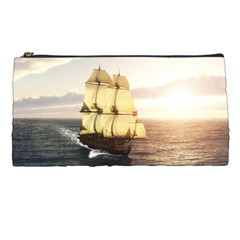 French Warship Pencil Case by gatterwe