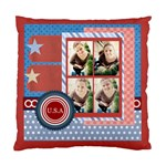 usa 4 july - Standard Cushion Case (Two Sides)
