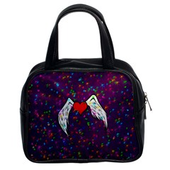 Your Heart Has Wings So Fly   Updated Classic Handbag (two Sides) by KurisutsuresRandoms