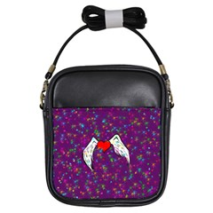 Your Heart Has Wings So Fly   Updated Girl s Sling Bag by KurisutsuresRandoms