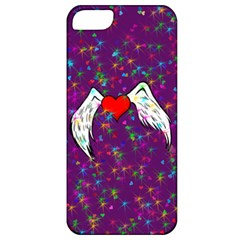Your Heart Has Wings So Fly   Updated Apple Iphone 5 Classic Hardshell Case by KurisutsuresRandoms