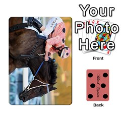 Black Caviar By Chevy Chase   Playing Cards 54 Designs   Qavhy1kju00l   Www Artscow Com Front - Heart2