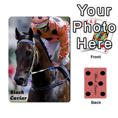 Black Caviar By Chevy Chase   Playing Cards 54 Designs   Qavhy1kju00l   Www Artscow Com Front - Heart8