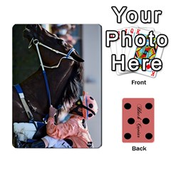 Ace Black Caviar By Chevy Chase   Playing Cards 54 Designs   Qavhy1kju00l   Www Artscow Com Front - HeartA