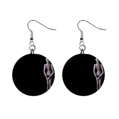 I Have To Go Mini Button Earrings by hlehnerer