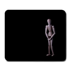 I Have To Go Large Mouse Pad (rectangle) by hlehnerer