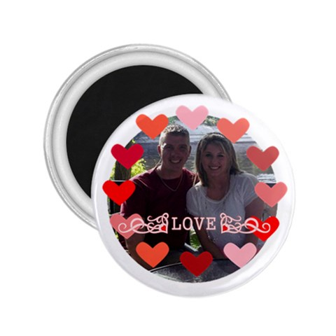 Love Magnet 2 By Joy Johns   2 25  Magnet   Qkc9p1odce68   Www Artscow Com Front