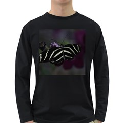 Butterfly 059 001 Mens' Long Sleeve T Shirt (dark Colored) by pictureperfectphotography