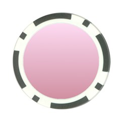 Pink Lace To Puce Gradient Poker Chip by BestCustomGiftsForYou