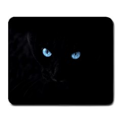 Black Cat Large Mouse Pad (rectangle) by cutepetshop