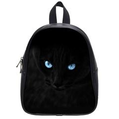 Black Cat School Bag (small) by cutepetshop