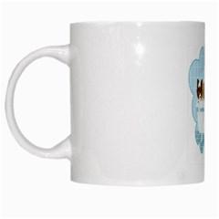 Dogs in Bath White Coffee Mug