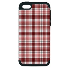 Buchanan Tartan Apple Iphone 5 Hardshell Case (pc+silicone) by BestCustomGiftsForYou