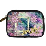 Love Life Pastel floral digital camera case - Digital Camera Leather Case