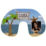 Cuba Bound Travel Neck Pillow
