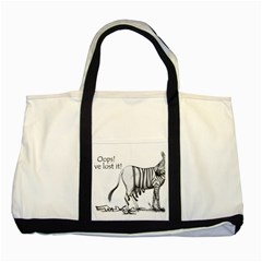 Lost Two Toned Tote Bag by cutepetshop