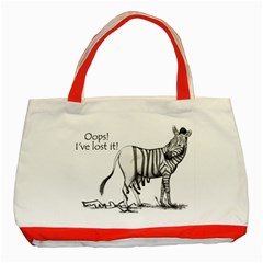 Lost Classic Tote Bag (red) by cutepetshop