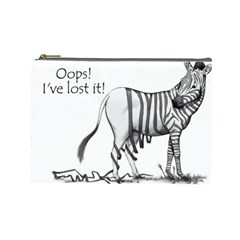 Lost Cosmetic Bag (Large) by cutepetshop
