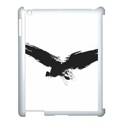 Grunge Bird Apple Ipad 3/4 Case (white) by magann