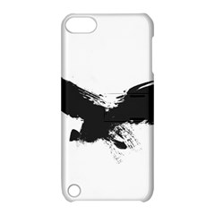 Grunge Bird Apple Ipod Touch 5 Hardshell Case With Stand by magann