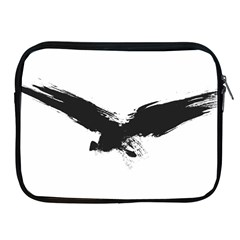 Grunge Bird Apple Ipad 2/3/4 Zipper Case by magann