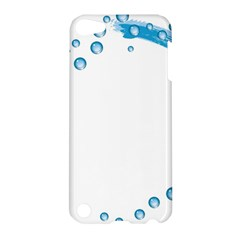 Water Swirl Apple Ipod Touch 5 Hardshell Case by magann
