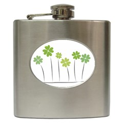 Clover Hip Flask by magann