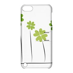 Clover Apple Ipod Touch 5 Hardshell Case With Stand by magann