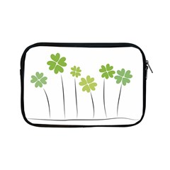 Clover Apple Ipad Mini Zipper Case by magann