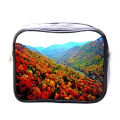 Through The Mountains Mini Travel Toiletry Bag (one Side) by Majesticmountain