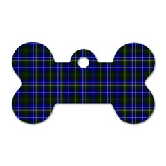 Macneil Tartan   1 Dog Tag Bone (two Sided) by BestCustomGiftsForYou