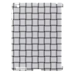 White Weave Apple Ipad 3/4 Hardshell Case (compatible With Smart Cover) by BestCustomGiftsForYou