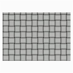 Gray Weave Glasses Cloth (large, Two Sided)