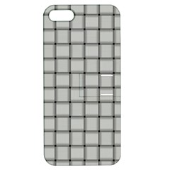 Gray Weave Apple Iphone 5 Hardshell Case With Stand by BestCustomGiftsForYou