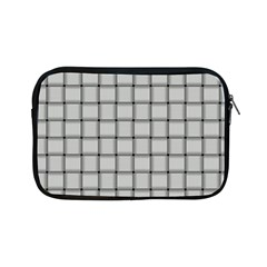 Gray Weave Apple Ipad Mini Zipper Case by BestCustomGiftsForYou