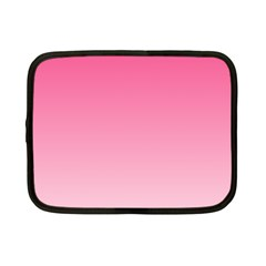 French Rose To Piggy Pink Gradient Netbook Case (small) by BestCustomGiftsForYou