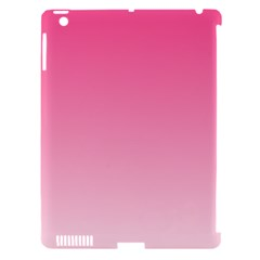 French Rose To Piggy Pink Gradient Apple Ipad 3/4 Hardshell Case (compatible With Smart Cover) by BestCustomGiftsForYou