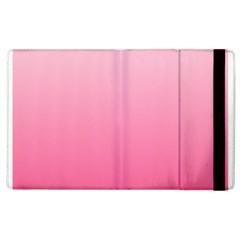 Piggy Pink To French Rose Gradient Apple Ipad 2 Flip Case
