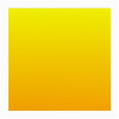 Yellow To Chrome Yellow Gradient Glasses Cloth (Medium) by BestCustomGiftsForYou