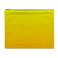 Yellow To Chrome Yellow Gradient Cosmetic Bag (xl) by BestCustomGiftsForYou