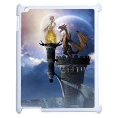 Dragon Land 2 Apple Ipad 2 Case (white) by gatterwe