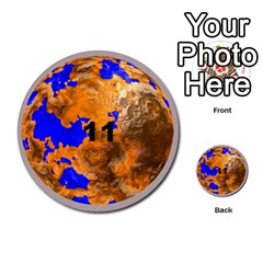 Planets By Bryan Corbett   Multi Purpose Cards (round)   A4pv9v4i9lx6   Www Artscow Com Front 11