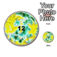 Planets By Bryan Corbett   Multi Purpose Cards (round)   A4pv9v4i9lx6   Www Artscow Com Front 12
