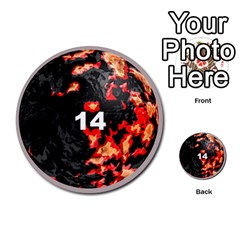 Planets By Bryan Corbett   Multi Purpose Cards (round)   A4pv9v4i9lx6   Www Artscow Com Front 14