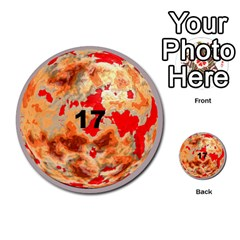 Planets By Bryan Corbett   Multi Purpose Cards (round)   A4pv9v4i9lx6   Www Artscow Com Front 17